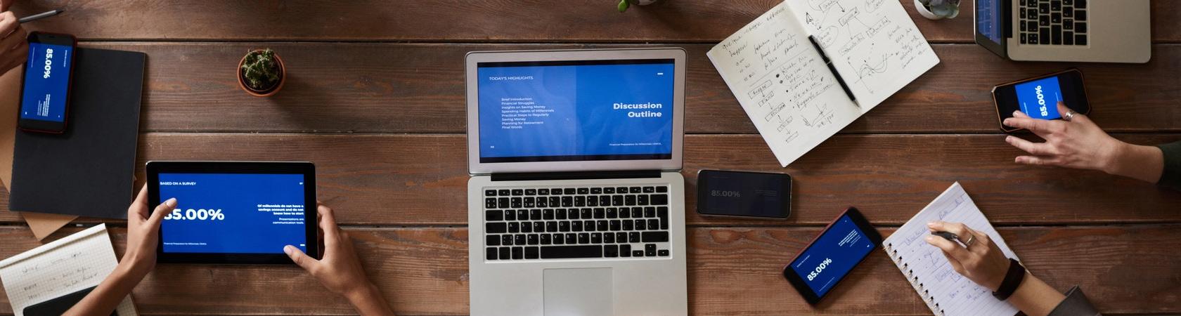 разработка презентации компании